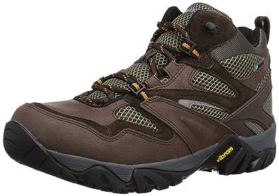 Hi-Tec Alpha Trail Mid WP Trail Walking Boots - 13 - Brown