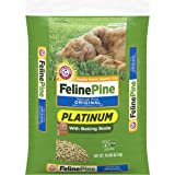 Arm & Hammer Platinum Natural Pine Original Non-Clumping Cat Litter, with Baking Soda, 18 lb