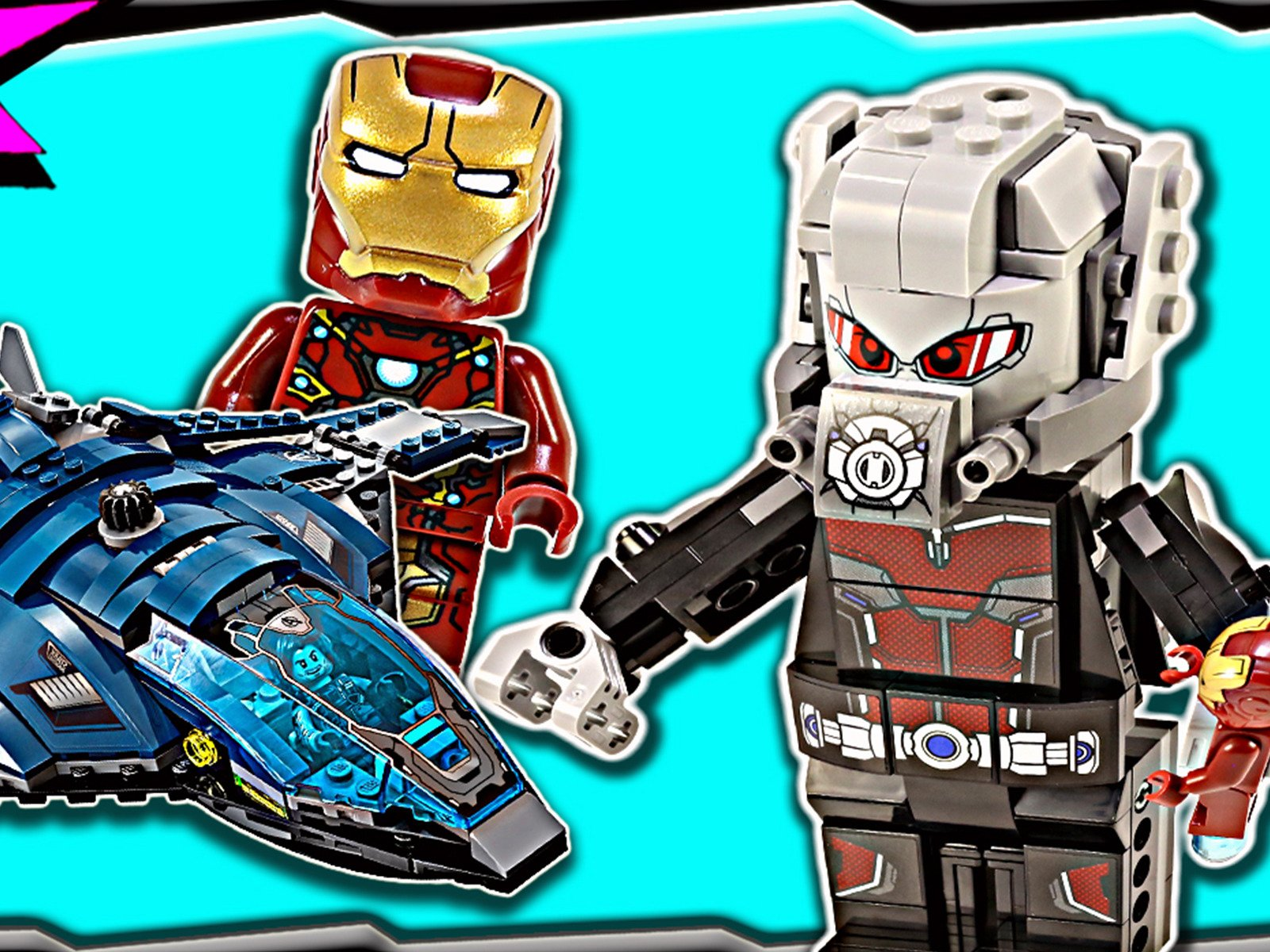 Amazon com: Watch Clip: Lego Set Builds Marvel - Artifex
