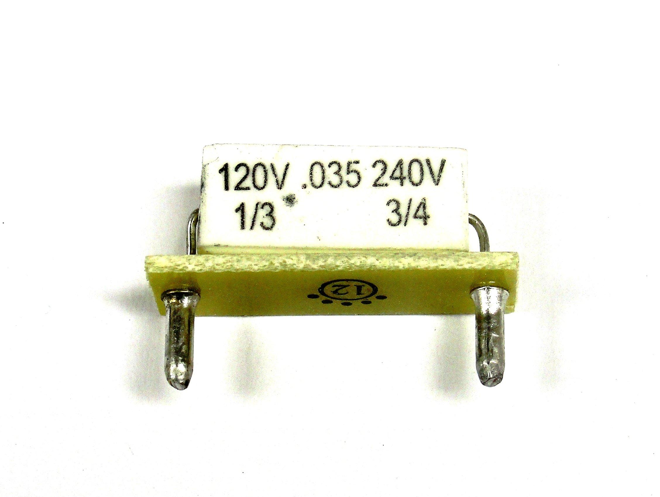 Plug-In Horsepower Resistor (9840)
