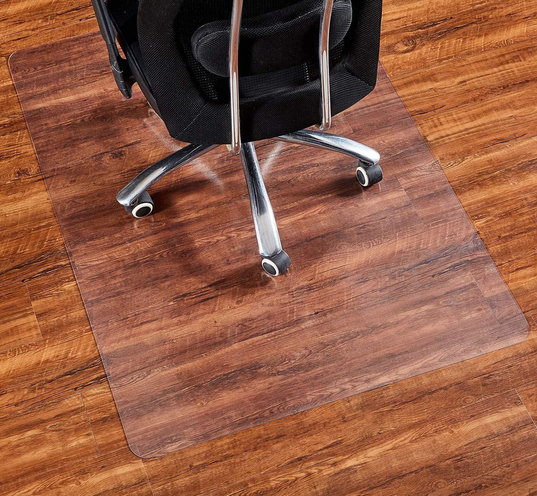 """Office Chair Mat, 48""""×36""""-2mm Thick, Chair Mat for Hardwood Floor, Desk Chair Mat, Floor Protectors for Office Chairs, Office Mat, Office Mats for Rolling Chairs"""