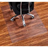 "Office Chair Mat, 48""×36""-2mm Thick, Chair Mat for Hardwood Floor, Desk Chair Mat, Floor Protectors for Office Chairs, Office Mat, Office Mats for Rolling Chairs"