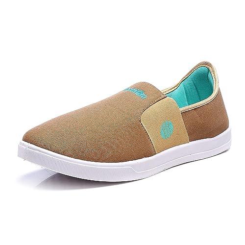 Buy Action Shoes Men's Beige Mesh