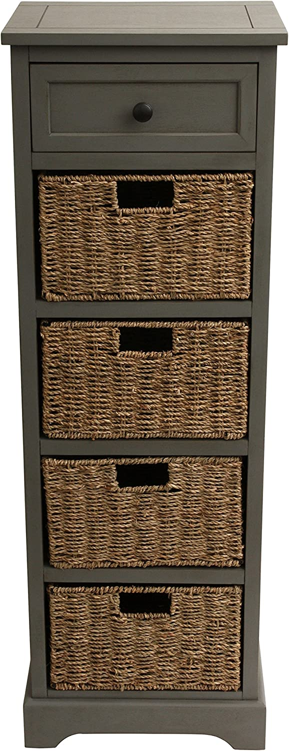 Décor Therapy Chest, Gray