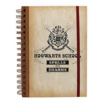 Libreta A5 Harry Potter Hogwarts List