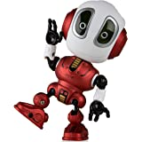 Talking Robots for Kids – Ditto Mini Robot Travel Toy with Posable Body, Smart Educational Stem Toys, Voice Changer and Robotics for Kids (Red)
