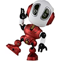 Talking Robots for Kids - Ditto Mini Robot Travel Toy with Posable Body, Smart Educational Stem Toys, Voice Changer and Robotics for Kids (Red)