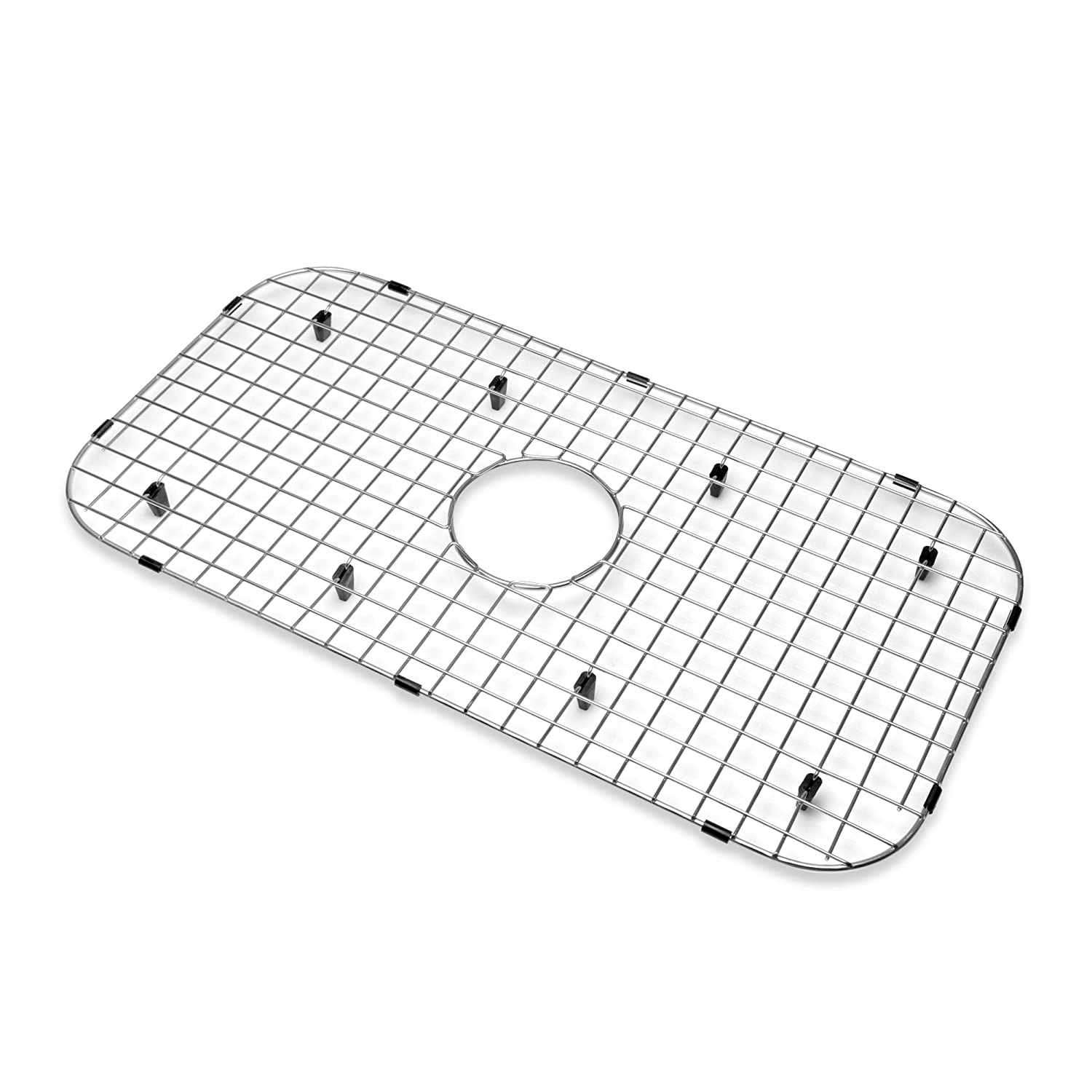 New Decor Star KBG-P05 Kitchen Sink Bottom Grid, Stainless Steel, 27 ...