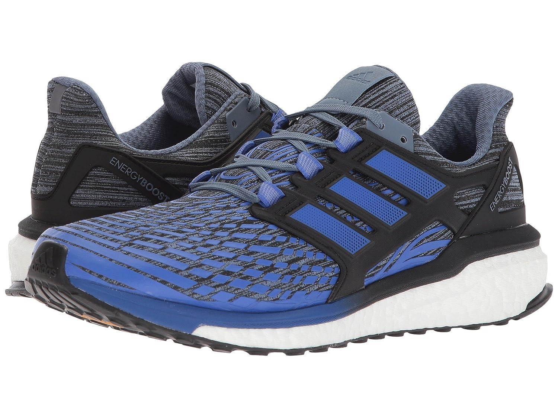 (アディダス) adidas メンズランニングシューズスニーカー靴 Energy Boost Raw Steel/Hi-Res Blue/Core Black 10 (28cm) D - Medium B07BQR12TG