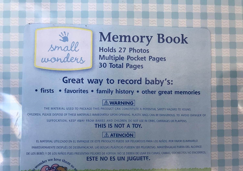 Amazon.com : Small Wonders Infant Boys Memory Book : Baby