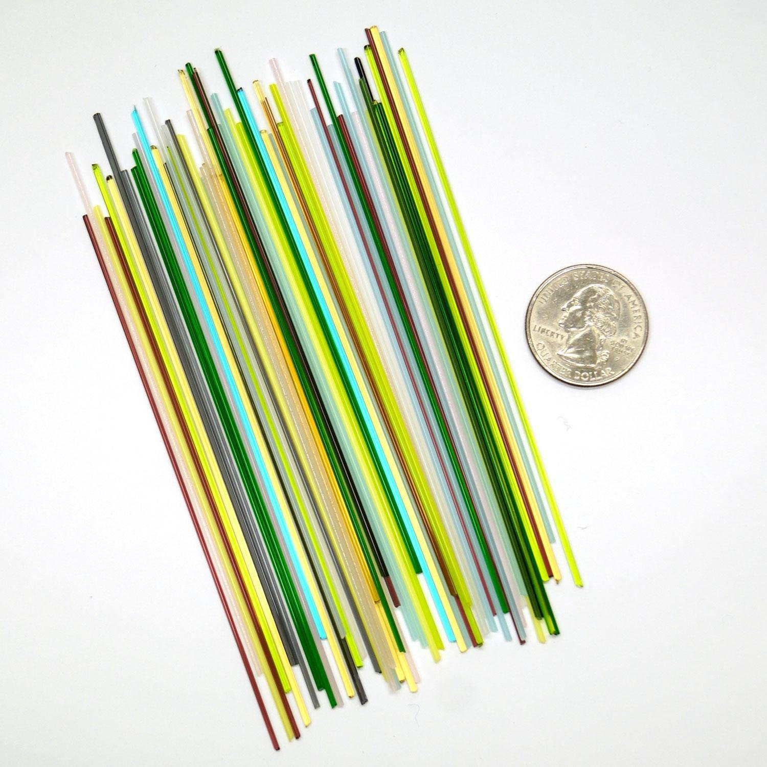 Fuseworks Variety Colors Thin Stringers Assortment 90 COE