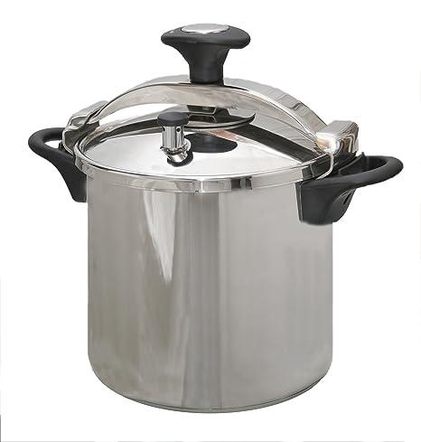 Kitchen Move CSB24-10L - Olla a presión (acero inoxidable ...