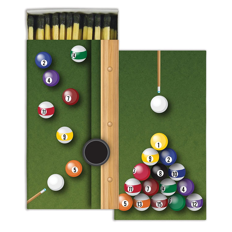 HomArt billar Match cajas con madera Matches (Set de 2): Amazon.es ...