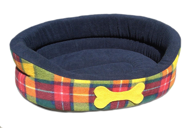 Coj/ín para cesta de cuadros escoceses Cosipet