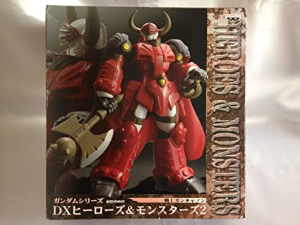 Amazon Com Gundam Dx Heroes Monsters Warrior Cancer Cannon Toys Games