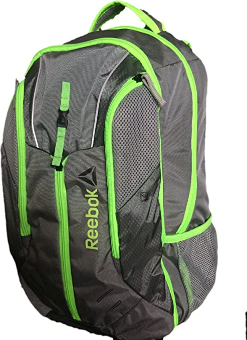Reebok Delta Core Axel Backpack - Grey Green  Amazon.ca  Luggage   Bags 67c5a53363f