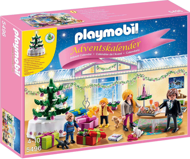 Playmobil 5496 Adventskalender Weihnachtsabend Mit Beleuchtetem
