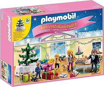 Playmobil Weihnachtskalender.Playmobil 5496 Adventskalender Weihnachtsabend Mit Beleuchtetem Baum