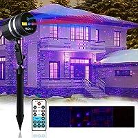 Coowoo Aluminum Alloy Outdoor&Indoor Laser Christmas Lights
