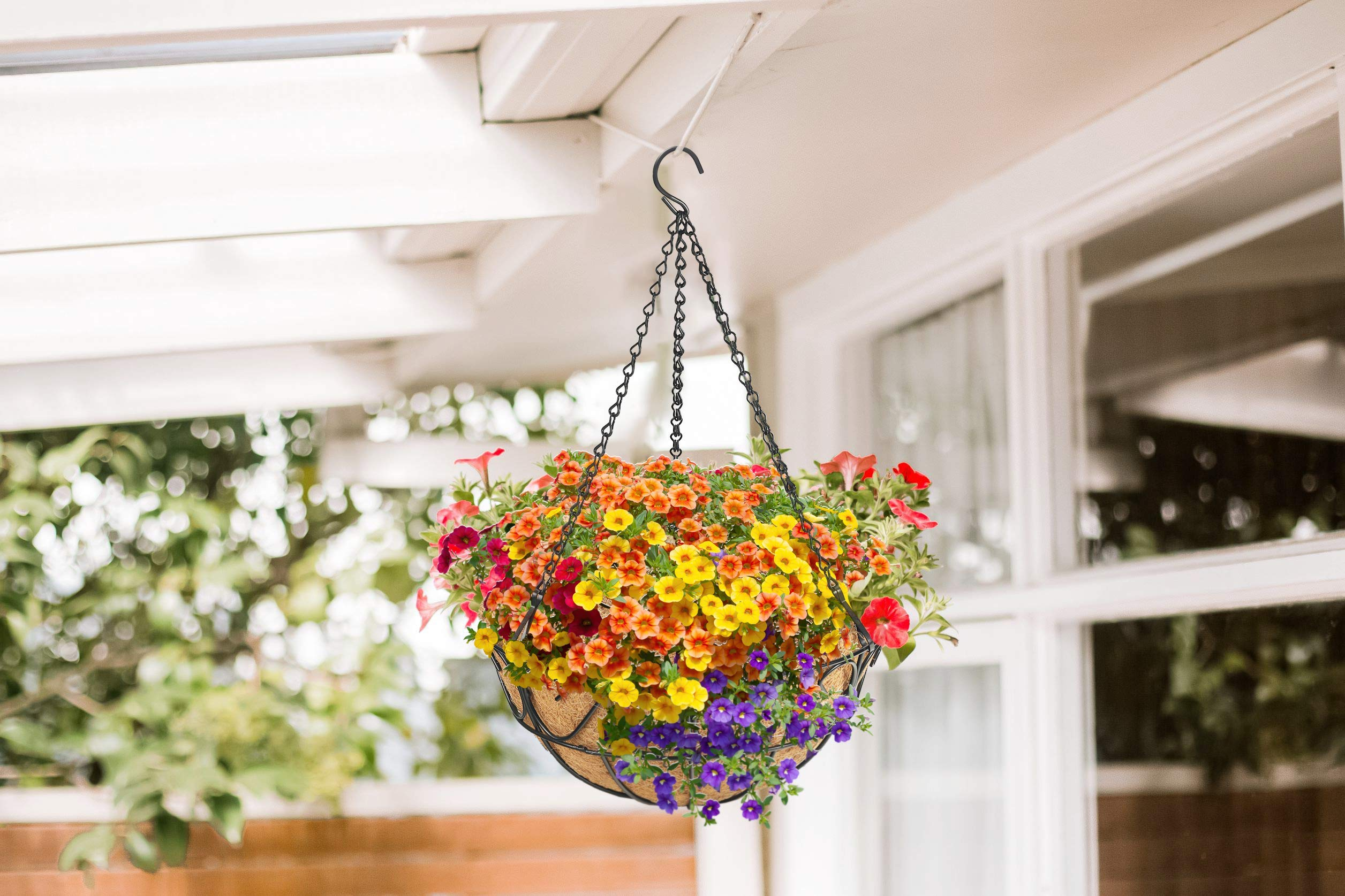 Metal Hanging Planter Basket