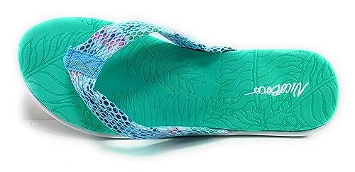 Chanclas Sandalias Mujer Piscina y para Caminar  Amazon.es  Zapatos ... 517e4ad2378