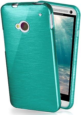 6cefb84a70b MoEx Funda Protectora OneFlow para Funda HTC One M7 Carcasa Silicona TPU 1,5mm  | Accesorios Cubierta protección móvil | Funda móvil paragolpes Bolso ...