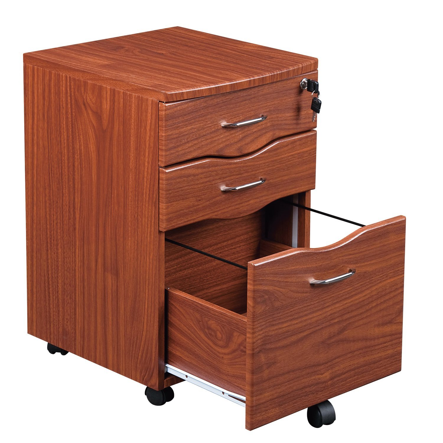 wheels storage double drawer size vertical oak locking white target office lateral with two lock and solid dark me of cabinet wood home cabinets drawers near metal full file
