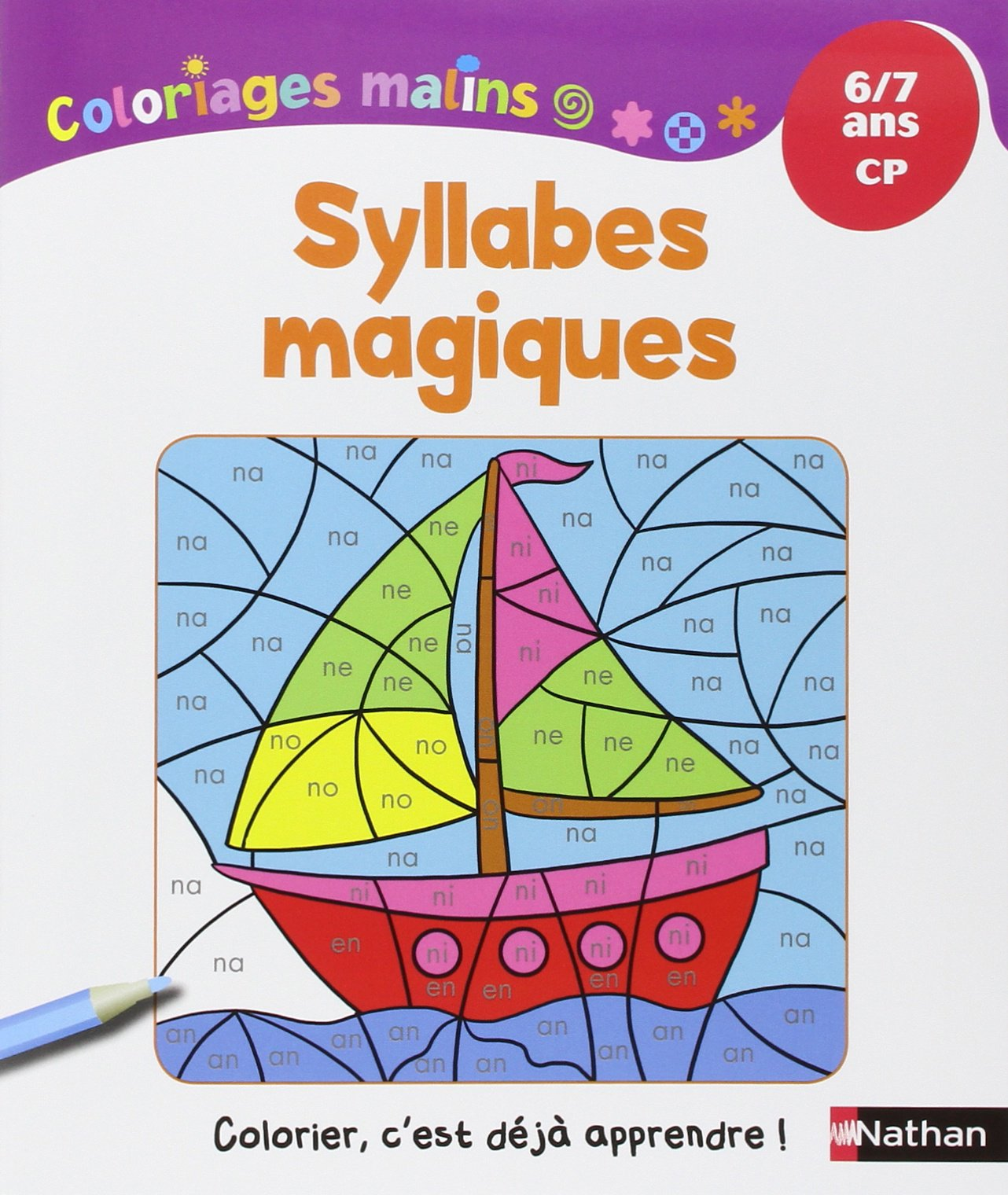 amazon fr coloriages malins syllabes magiques cp isabelle