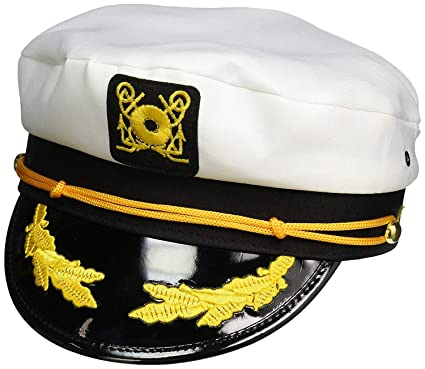 Amazon.com  Nicky Bigs Novelties Adult and Child Sailor Yacht Boat Captain  Hat Set Navy Marines Admiral Cap Hats  Clothing 2c8414d24656