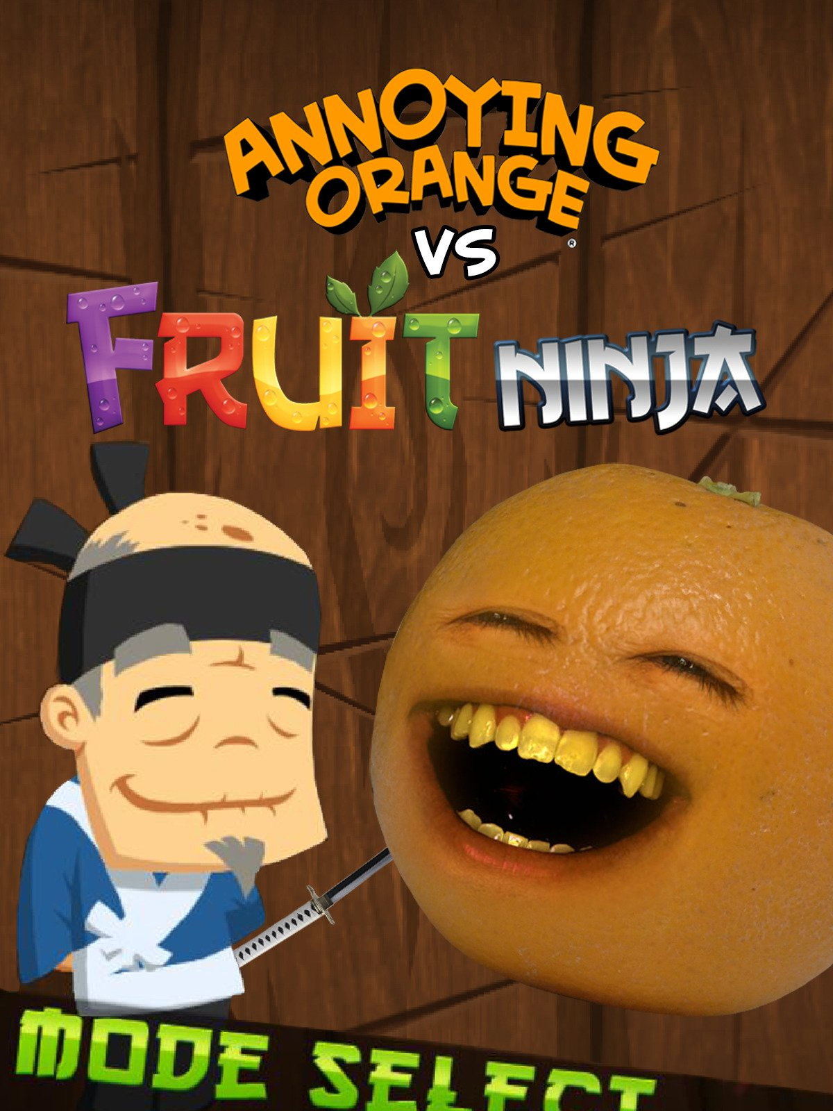 Watch Clip: Annoying Orange vs Fruit Ninja | Prime Video
