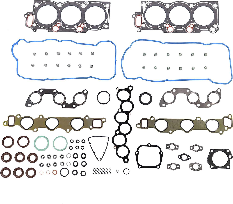 Solara// 3.0L// DOHC// V6// 24V// 2995cc// 1MZFE Sienna DNJ HGS961 MLS Head Gasket Set//For 2000-2003// Toyota//Camry