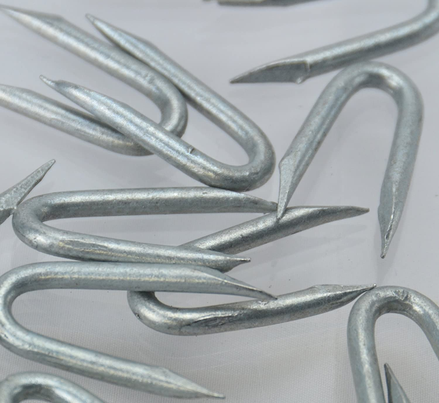 U Shaped Nails 25mm Galvanised Staples For Wire Fencing Staples