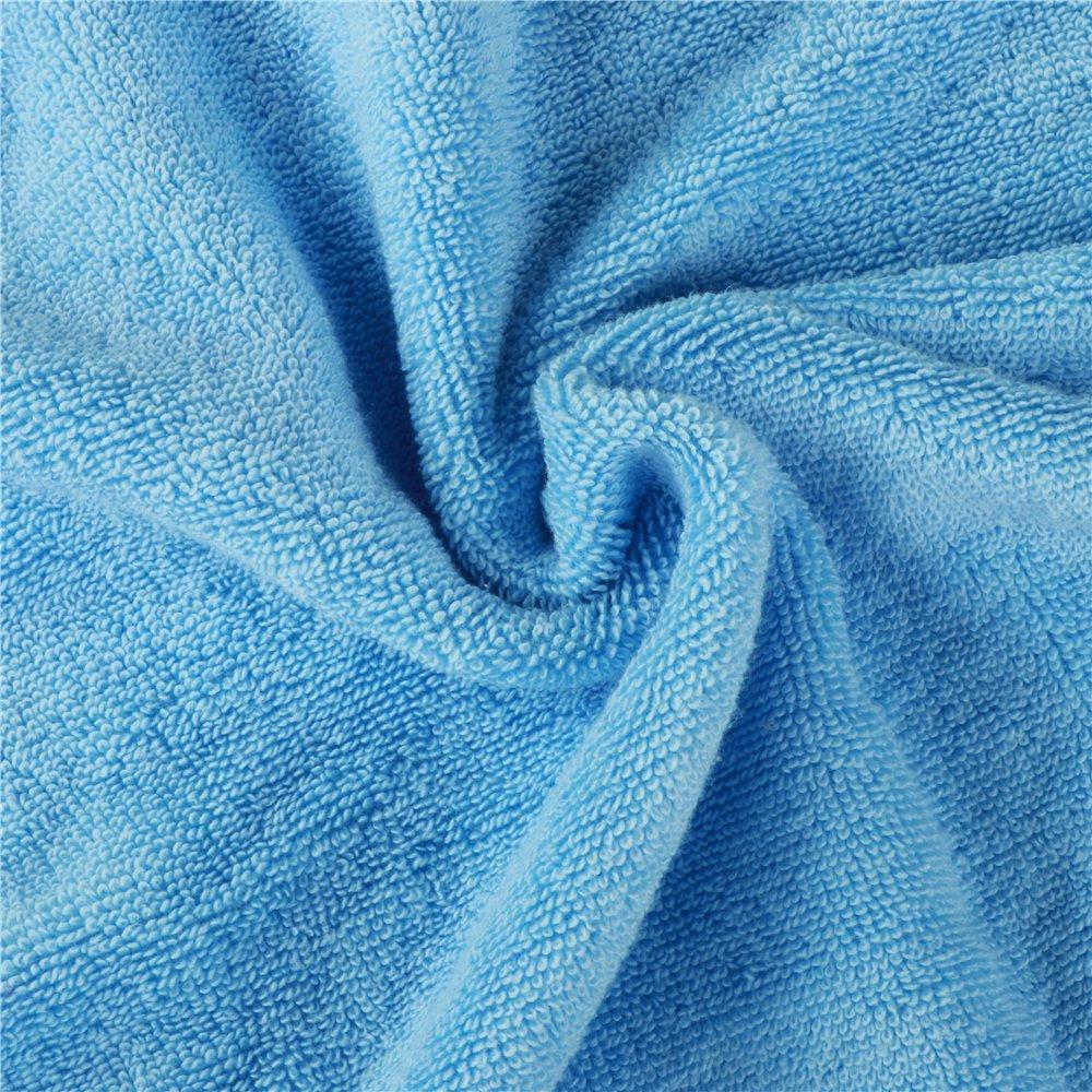 bleu Golden Rule Premium Gant de toilette Serviette de b/éb/é /à capuche Super /épais et doux et absorbant Serviettes de bain de bambou pour nouveau-n/é fille ou gar/çon et enfants