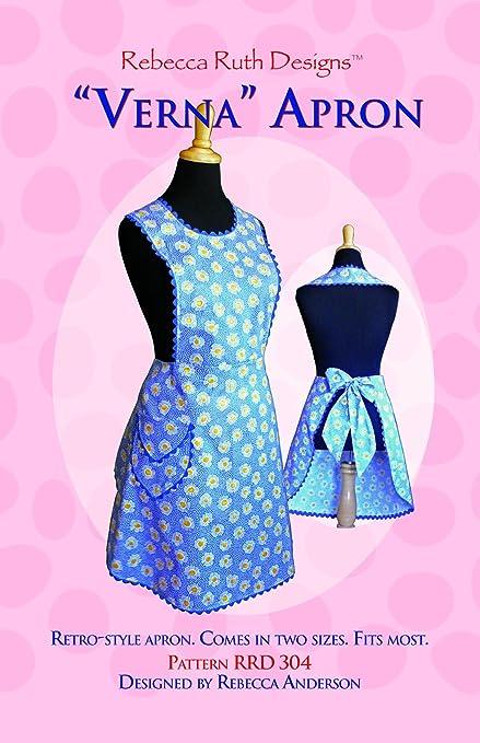 Amazon Verna Apron Sewing Pattern Kitchen Dining Custom Apron Sewing Pattern