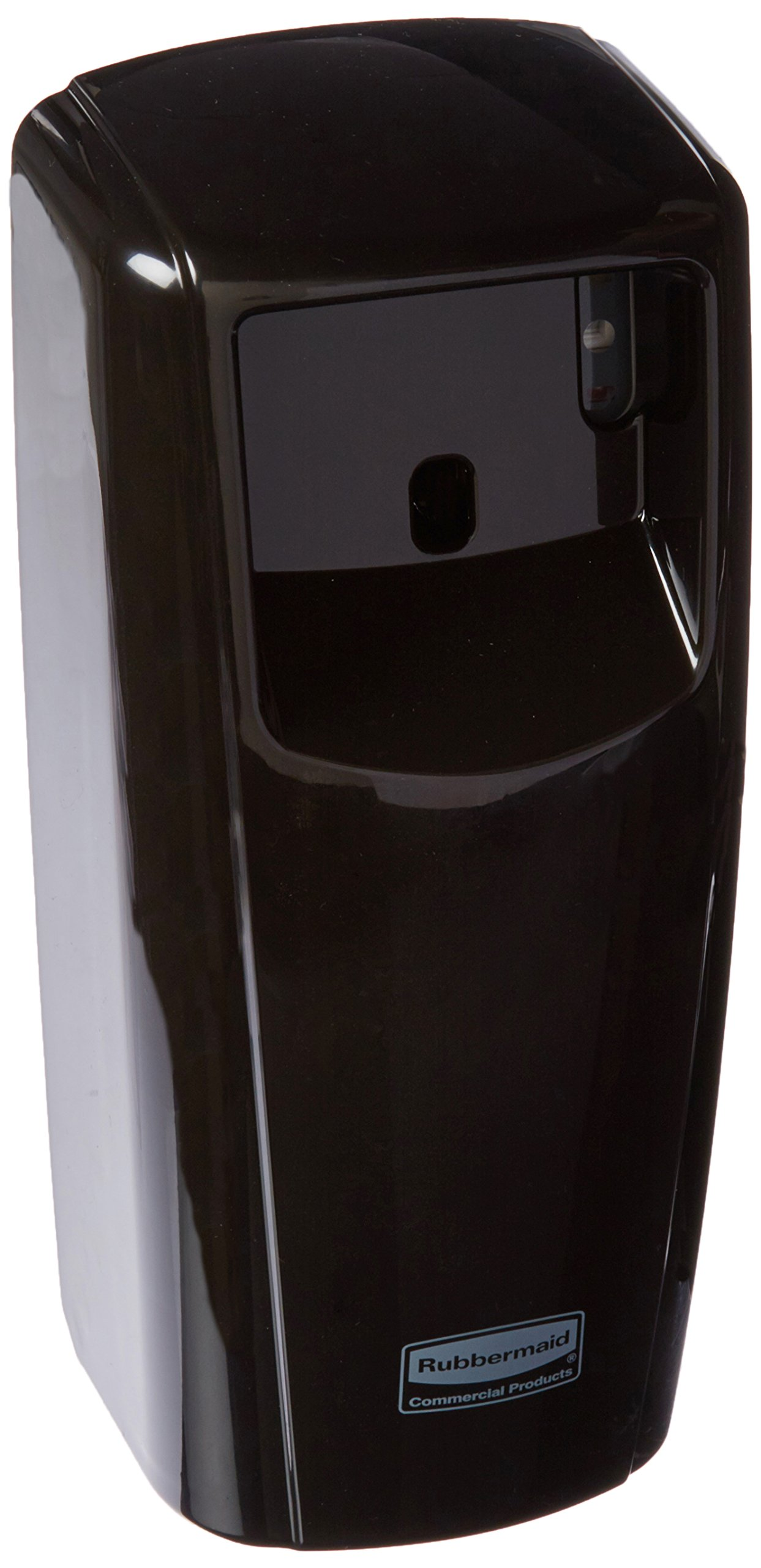 Rubbermaid Commercial Products 1793537 Standard Odor-Control Aerosol Dispenser with LED Display, Black
