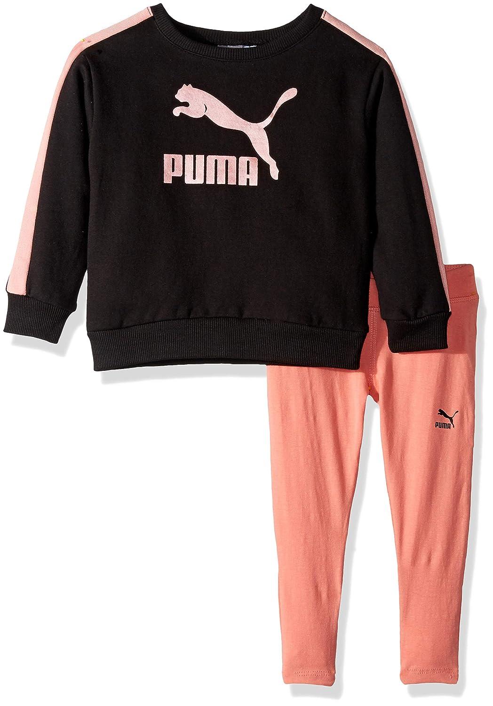PUMA Girls Girls Fleece and Legging Set Sweatshirt