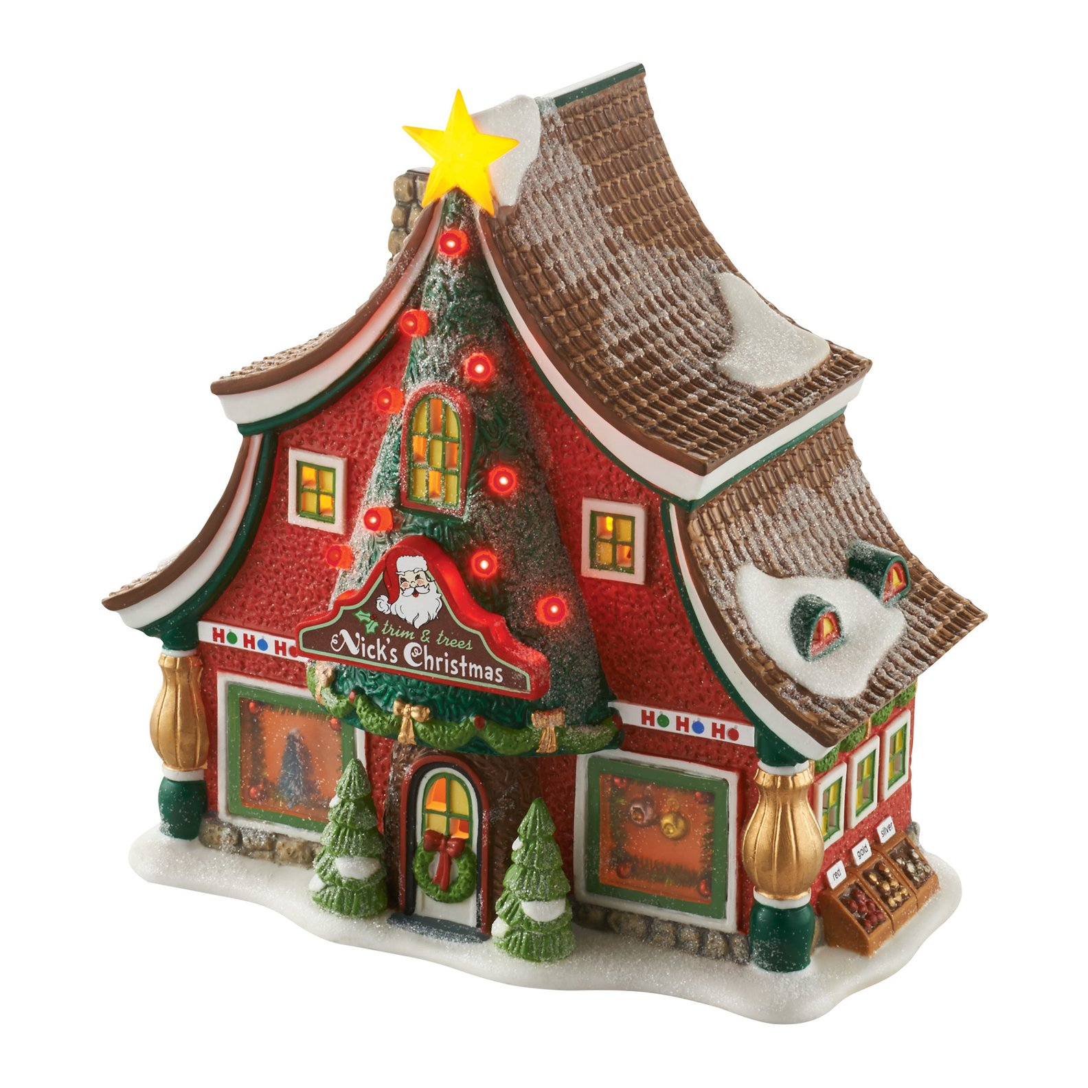 Department 56 North Pole Sounds of Christmas Lighted Building