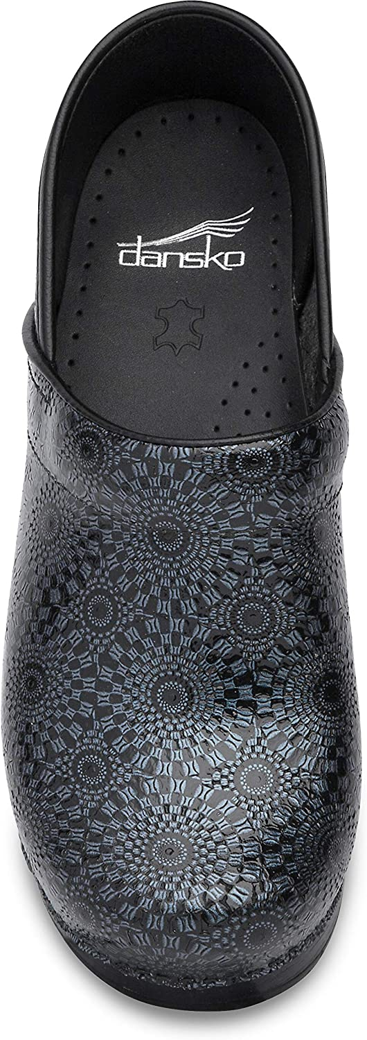 Dansko Women's Pro XP Clog Black Medallion
