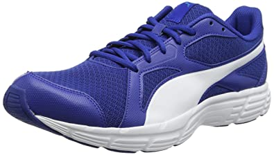 Puma Unisex-Erwachsene Axis v4 Grid Low-Top Blau (True Blau Weiss) 38 EU