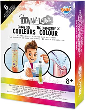 Buki France-Mini Lab-Química de los Colores, (3013): Amazon.es ...
