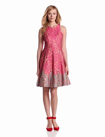Tracy Reese Women's Michelle Dress, Pink, 0