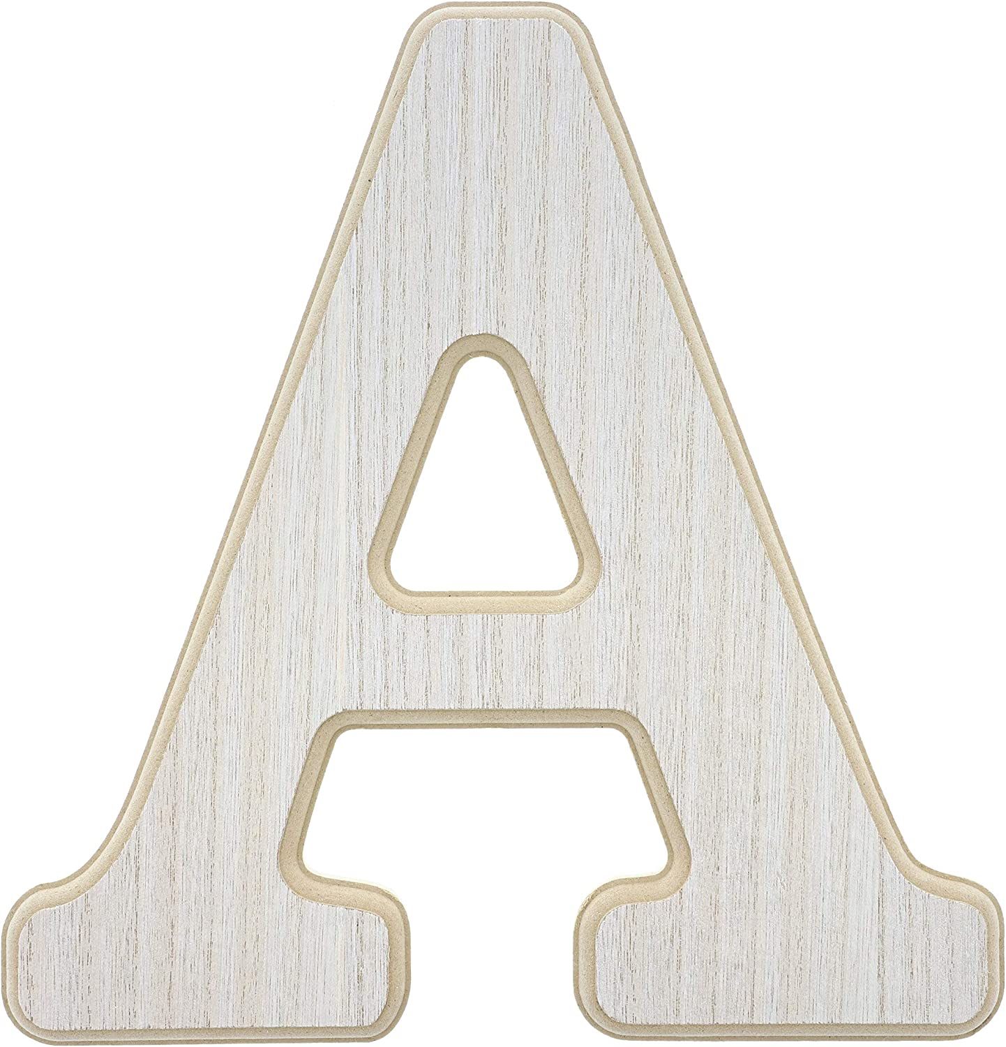 Wood Wall Decor, Wooden Letter A (12 in)