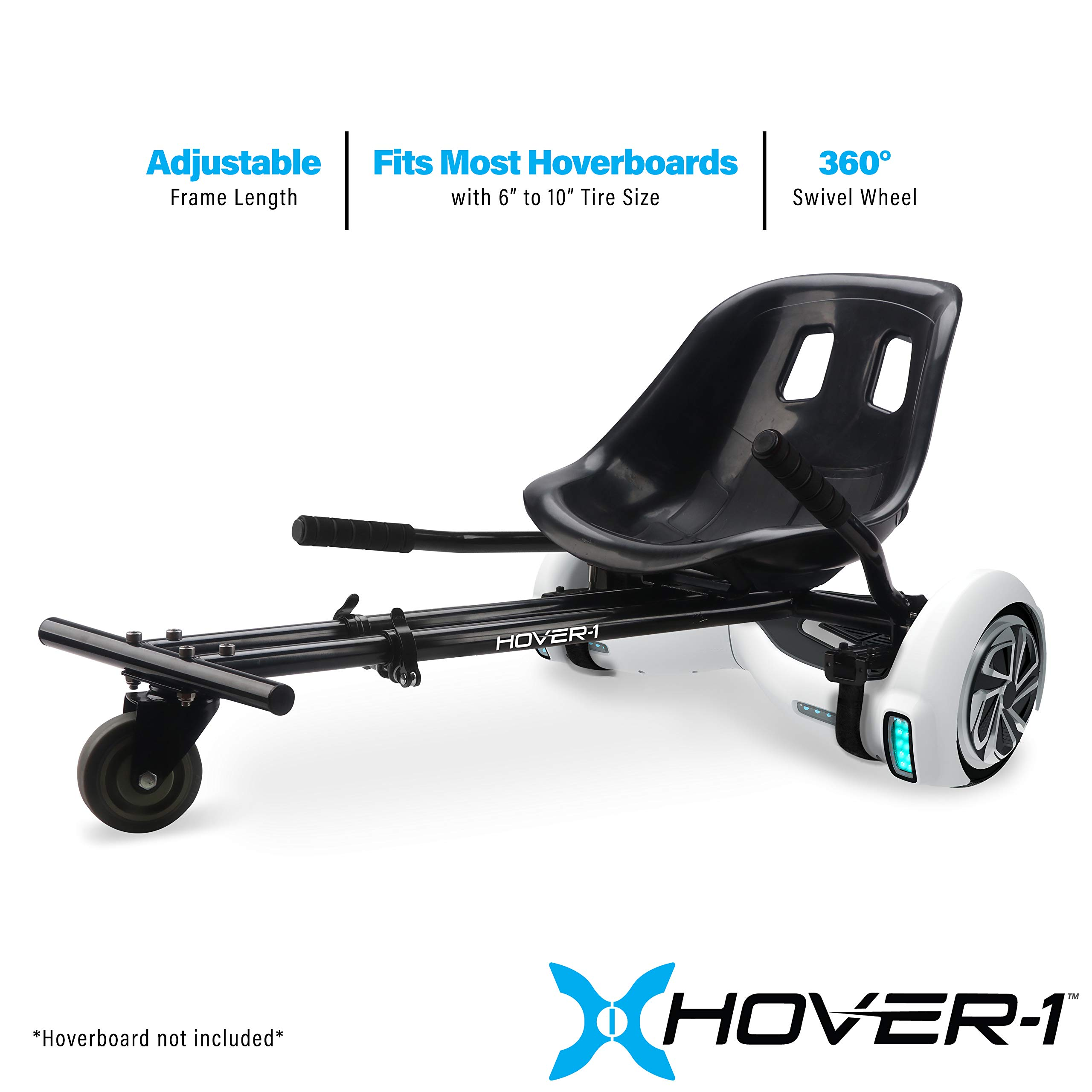 Hover-1 Buggy Attachment for Transforming Hoverboard Scooter into Go-Kart by HOVER-1