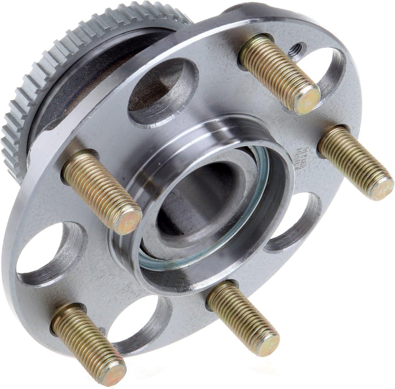 ROADFAR Wheel Bearing /& Hub Assemblies fit for 2004-2008 Acura TL 2003-2007 Honda Accord Rear Wheel Hub and Bearing Assembly 512188