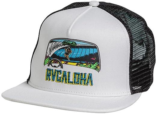 53a6f7049fc69 ... sale rvca mens aloha hat o s black white 09613 41dbc