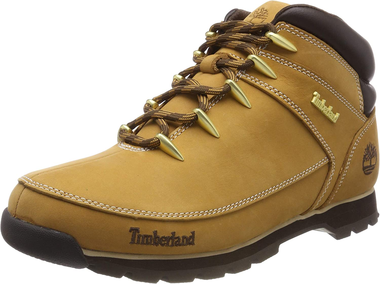 TALLA 43 EU. Timberland Euro Sprint Hiker Waterproof, Zapatillas Chukka para Hombre
