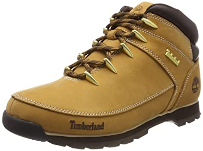 genuine shoes 100% authentic cute cheap Timberland Mens Euro Sprint Hiker Walking Hiking Winter Ankle Boots - Wheat  - 9.5/43.5