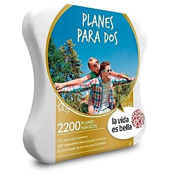 La vida es bella - Caja Regalo - Planes para Dos - 2200 Planes gastronómicos, de Bienestar y de Aventura: Amazon.es: Deportes y aire libre