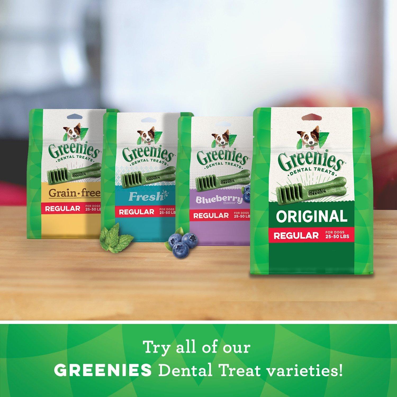 Greenies Weight Management Regular Size Dental Dog Chews - 12 Ounces 12 Treats by Greenies (Image #8)