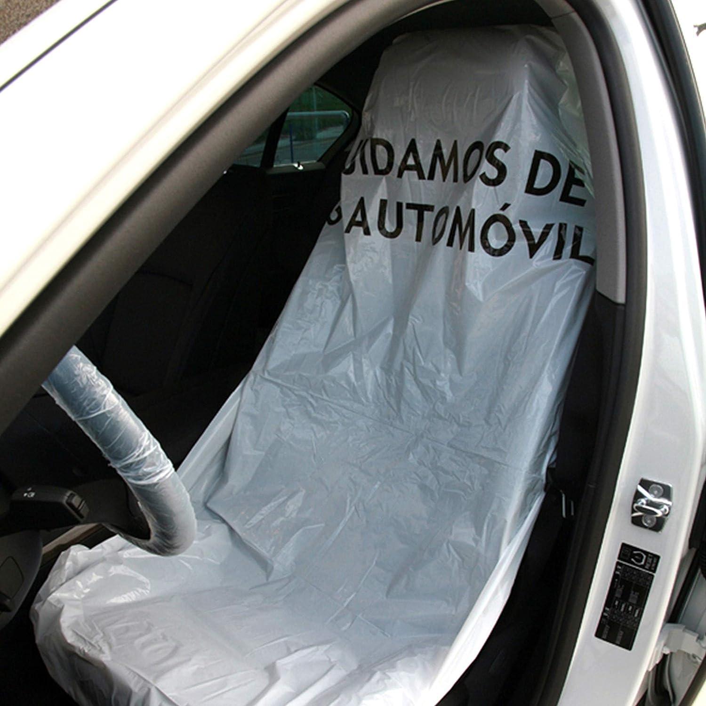 Fundas para asiento de coche LDPE blancas (rollo de 250 unidades ...